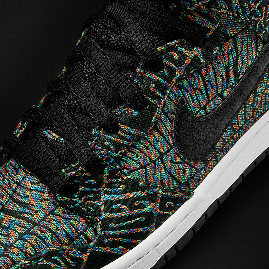 Nike-SB-Dunk-High-Premium-Tripper-Detail