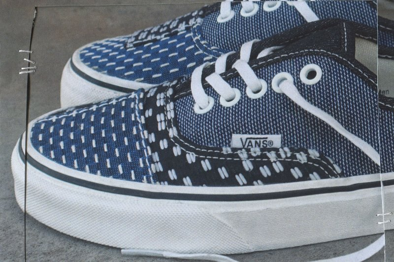 Vans Authentic Patchwork Denim Sneaker | Denim sneakers